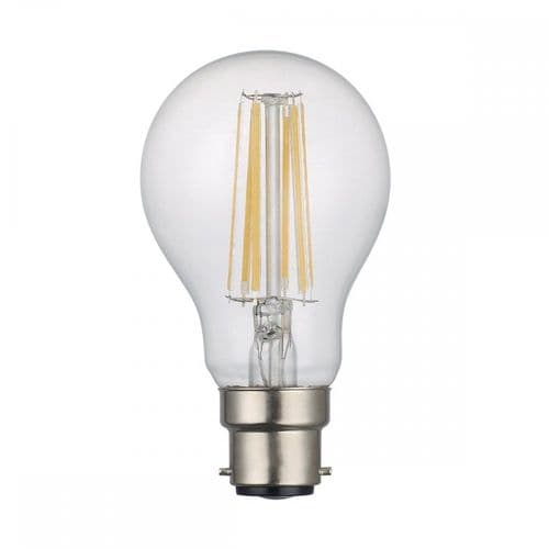 Dar Pack Of 5 B22 8W LED Dimmable Lamp